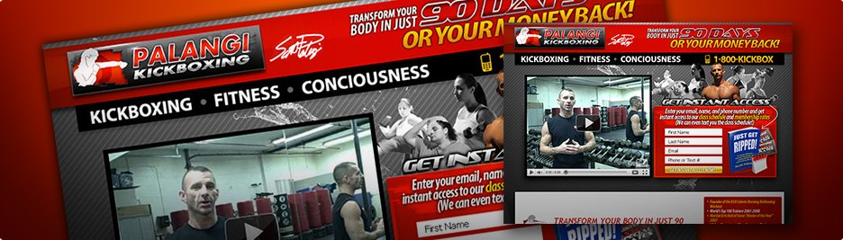 Kickboxing Web Design